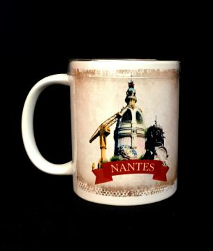 Mug + caramels Nantes