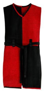 Tunique normande rouge/ noire